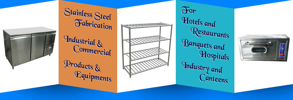 stainless steel racks - tables - food trolleys - commercial pizza ovens in ludhiana punjab india