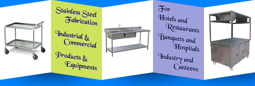 stainless steel water sink - food trolleys - commercial water sink in ludhiana punjab india
